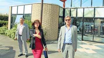 Jean-Louis Dussart et Gérard Dezoteux avaient reçu un investisseur chinois fin 2015.