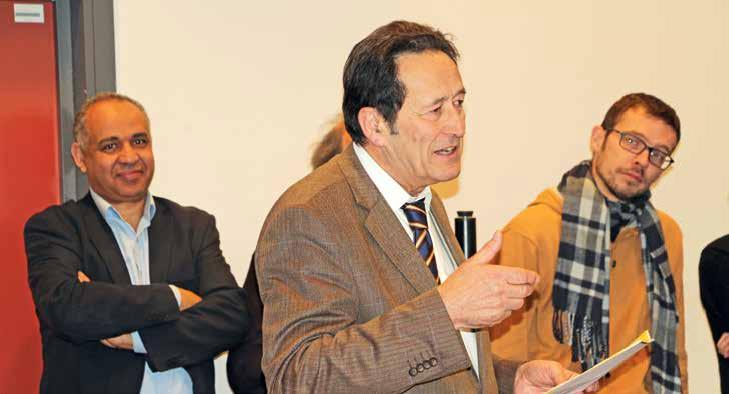 """""""L'ULCO a retrouvé une bonne santé financière et même des capacités d'investissement. C'est essentiel pour l'avenir"""", a déclaré le président Roger Durand."""