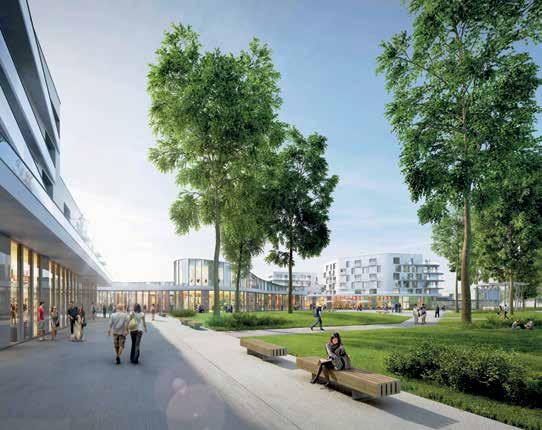 """""""Faire une opération de qualité"""" selon les voeux de Patrice Vergriete, président de la communauté urbaine de Dunkerque."""