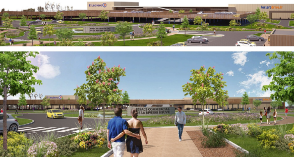 Un nouveau centre commercial en p riph rie de calais la gazette nord pas de calais - Nouveau centre commercial amiens nord ...
