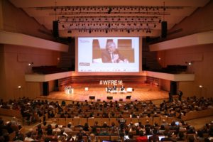 Philippe Vasseur lors du World Forum 2016.Crédit Maxime Dufour