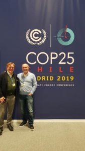 Manuel Cira et Paco Franco, président du Réseau Océan Mondial