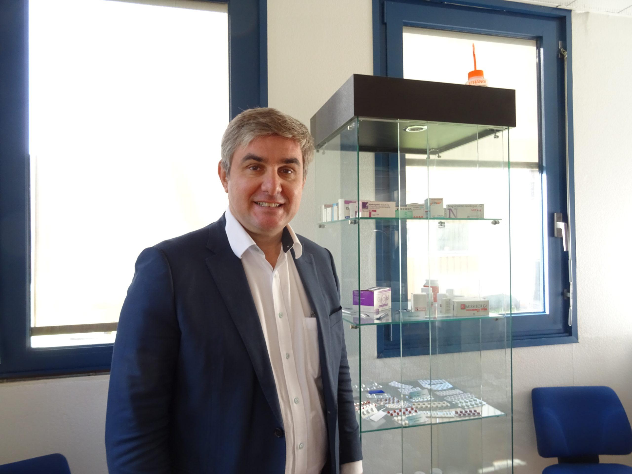 Alexandre Williams, gérant d'Athena Pharmaceutiques, est le repreneur d'Inpharmasci.